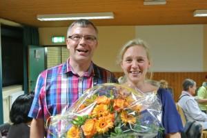 Harald Gaude (1. Vorsitzender) + Simone Trinkl